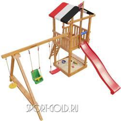Детский спортивный комплекс для дачи САМСОН Амстердам
