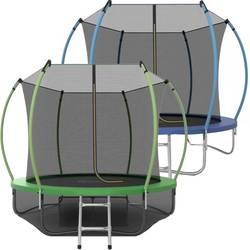 Батут EVO Jump Internal 8ft (2,44 м) с сеткой и лестницей