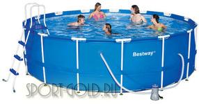 Бассейн Bestway 56438/56100 с фильтром и аксессуарами