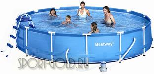 Бассейн Bestway 56434 с фильтром и аксессуарами