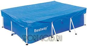 Дополнительный аксессуар для бассейна Bestway Защитный чехол прямоугольный