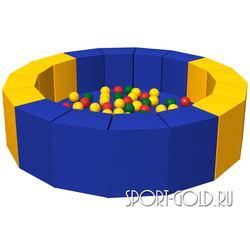 Сухой бассейн с шариками ROMANA 16 граней