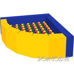 Сухой бассейн с шариками ROMANA Фасолька
