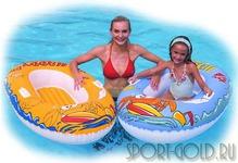 Дополнительный аксессуар для бассейна Bestway Надувная лодочка 34009