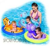 Дополнительный аксессуар для бассейна Bestway Надувная лодочка Животные