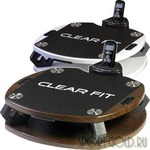Виброплатформа Clear Fit CF-Plate Compact 201 White/Wenge