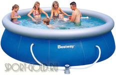 Бассейн Bestway 57166 с фильтром