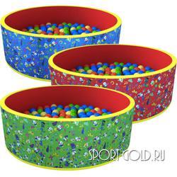 Сухой бассейн с шариками ROMANA Веселая поляна