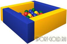 Сухой бассейн с шариками ROMANA Лужайка