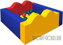 Сухой бассейн с шариками ROMANA Ручеек