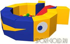 Сухой бассейн с шариками ROMANA Кит