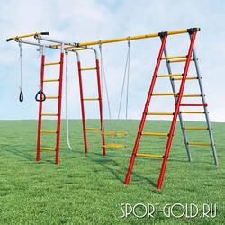 Детский спортивный комплекс для дачи ROMANA Букварь-2
