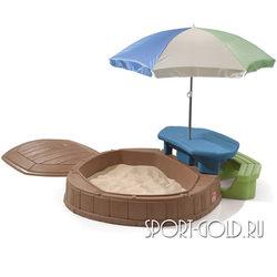 Песочница Step 2 со столиком, 843700