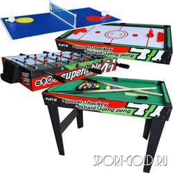 Игровой стол Трансформер DFC Fun2, 4 в 1