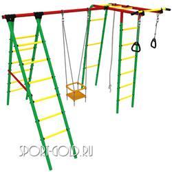 Детский спортивный комплекс для дачи Kampfer Happy Child