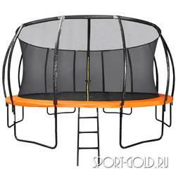 Батут DFC Trampoline Kengoo 16FT-TR-E-BAS с сеткой и лестницей