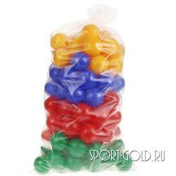 Шарики для сухого бассейна АССОРТИ 7 см / 100 шт глянцевые