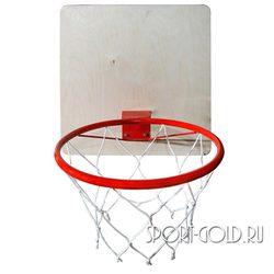Аксессуар для ДСК АССОРТИ Баскетбольное кольцо с сеткой 29.5 см
