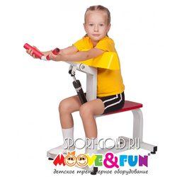 Детский силовой тренажер Moove&Fun Бицепс-трицепс MF-E02