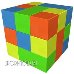 Мягкий конструктор ROMANA Кубик Рубика