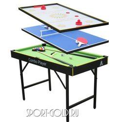 Игровой стол Трансформер DFC Smile, 3 в 1