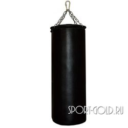 Боксерский мешок РОККИ 110х40 см, 45 кг, кожа