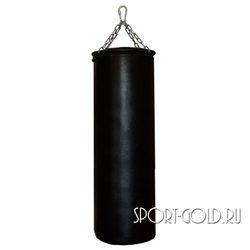 Боксерский мешок РОККИ 120х40 см, 50 кг, кожа