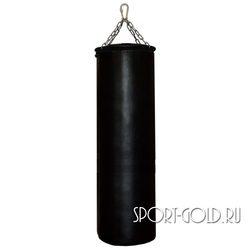 Боксерский мешок РОККИ 130х40 см, 55 кг, кожа