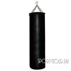 Боксерский мешок РОККИ 140х40 см, 60 кг, кожа