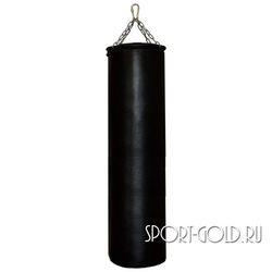 Боксерский мешок РОККИ 150х40 см, 65 кг, кожа