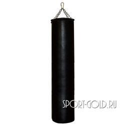 Боксерский мешок РОККИ 180х40 см, 70 кг, кожа