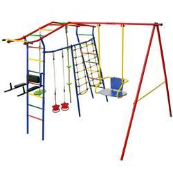Детский спортивный комплекс для дачи КМС Игромания-5 Фитнесс