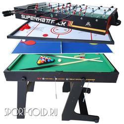 Игровой стол Трансформер DFC Superhattrick 4в1