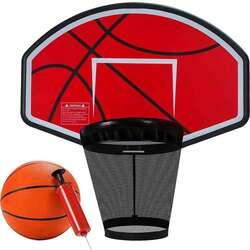 Баскетбольный щит с кольцом Clear Fit BasketStrong ВВ 700 для батутов ElastiqueStrong и SpaceStrong