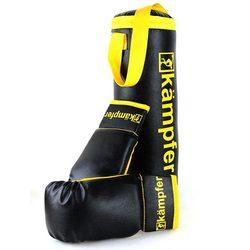 Боксерский мешок Kampfer First Ring 5 кг с перчатками