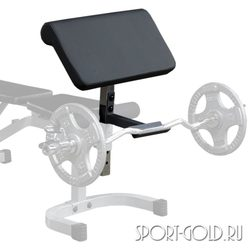 Опция Body Solid Powerline PPCA11X - Парта на бицепс