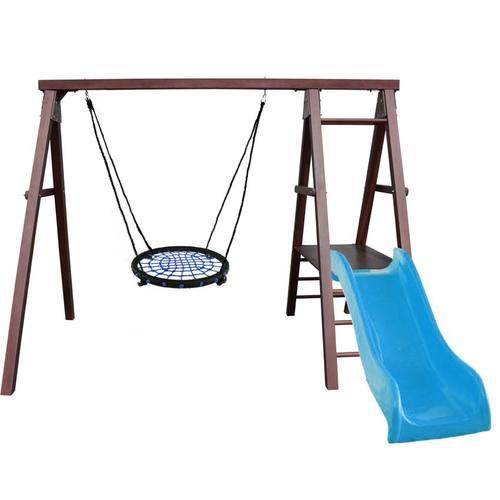 Детский спортивный комплекс для дачи Kampfer Lucky Гнездо 62 см синее
