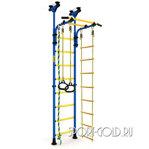 Детский спортивный комплекс Kampfer Strong Kid Ceiling Сине-желтый