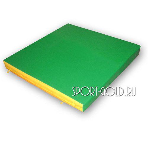 Спортивный мат АССОРТИ Карусель №3 Зелено-желтый