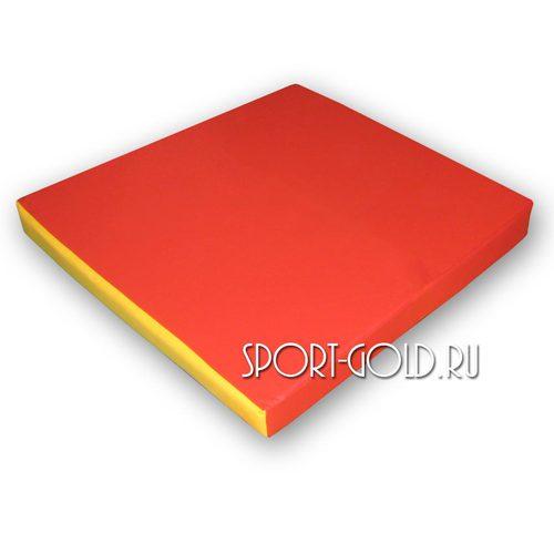 Спортивный мат АССОРТИ Карусель №3 Красно-желтый