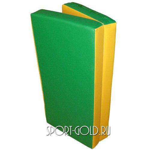 Спортивный мат АССОРТИ Карусель №4 Зелено-желтый