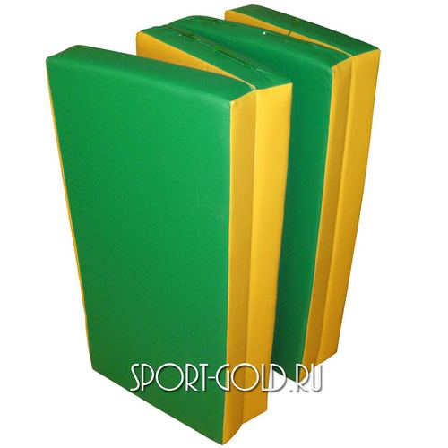 Спортивный мат АССОРТИ Карусель №7 Зелено-желтый