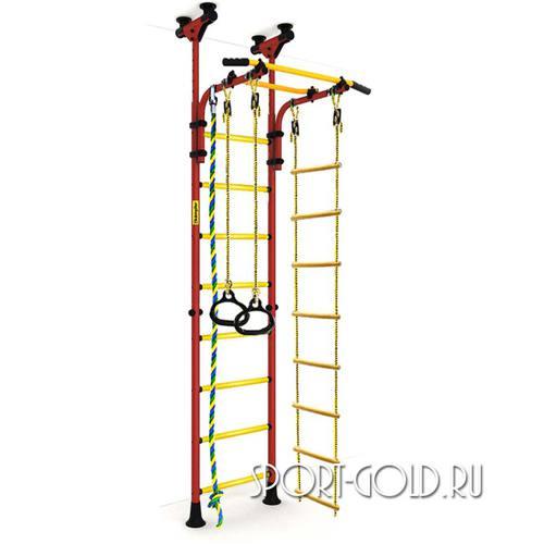 Детский спортивный комплекс Kampfer Strong Kid Ceiling Красно-желтый