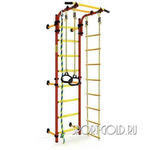 Детский спортивный комплекс Kampfer Strong Kid Wall Красно-желтый