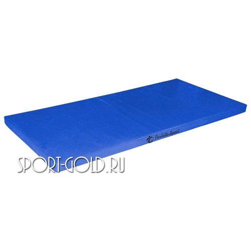 Спортивный мат Perfetto Sport №6, 200х100х10 см, нескладной Синий