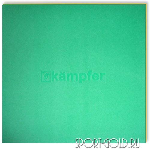 Спортивный мат Kampfer Татами Зелено-желтый
