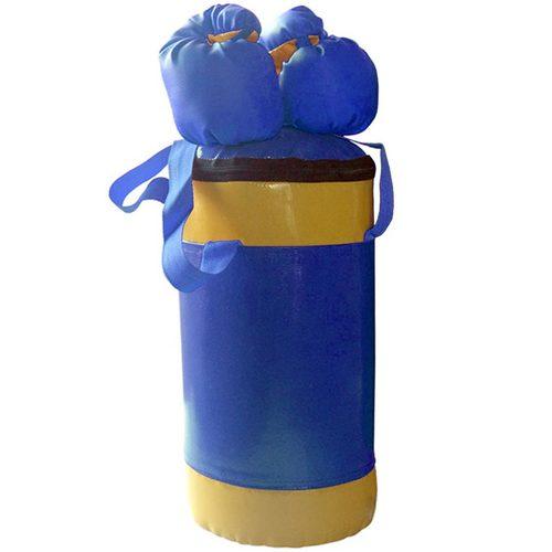 Боксерский мешок АССОРТИ №2 с перчатками Синий