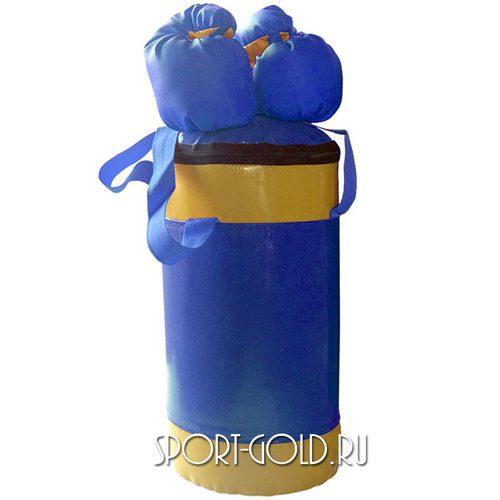 Аксессуар для ДСК АССОРТИ Детский боксерский набор №2 Сине-желтый