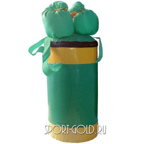 Аксессуар для ДСК АССОРТИ Детский боксерский набор №2 Зелено-желтый