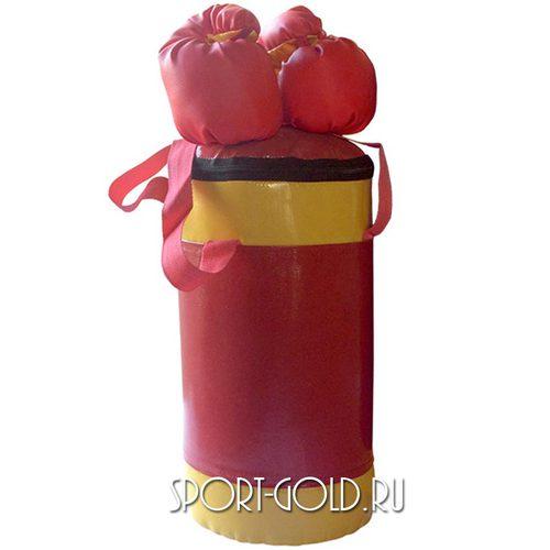 Аксессуар для ДСК АССОРТИ Детский боксерский набор №2 Красно-желтый
